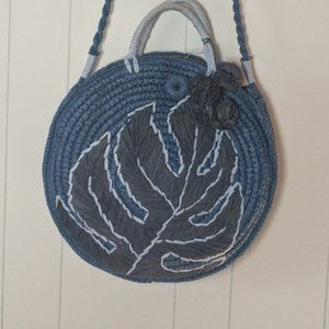 Tommy Bahama Pirro Circle Straw Tote